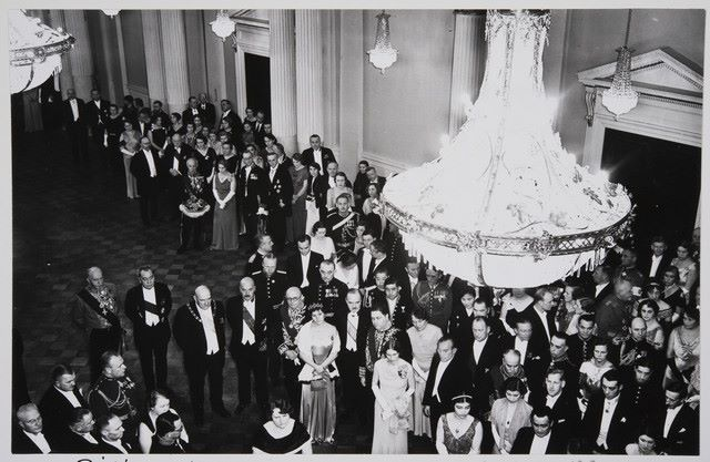 Independence Day Reception of 1934.